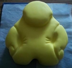 3D торт – торт для мальчиков и мужчин. Мастер-класс-шаг 7