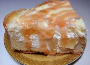 Творожный торт с ананасами восхитит вас своим вкусом!