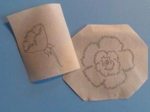 Айсинг (королевская глазурь) – как рисовать цветы. Мастер-класс-шаг 1