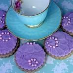 Как украсить мастикой печенье – да очень просто!