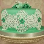 Как украсить торт. Идеи украшения из королевской глазури и мастики