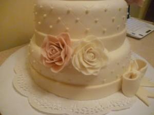 Свадебный торт – как сделать рельефные бортики. Мастер-класс