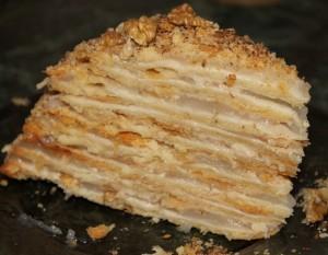 Торт Наполеон на пиве – простой рецепт приготовления-шаг 1