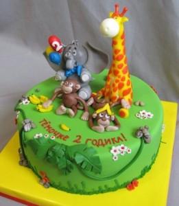 Животные из мастики, если ими украсить детский торт, приводят малышей в восхищение. Да и делать такие фигурки – сплошное удовольствие. В этом вы убедитесь на примере очередного увлекательного видео-рецепта.  Сегодня вы научитесь делать милого, забавного жирафа из мастики. В «компанию» к нему можно добавить котика, лошадку, мишку или любых других животных. Не только малыши, но и взрослые придут в восторг!