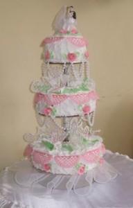 Как украсить свадебный торт айсингом (королевской глазурью) – видео-рецепт-шаг 1
