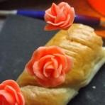 Розы из мастики. Мастер-класс по изготовлению миниатюрных роз