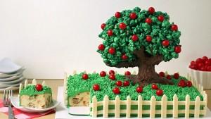 3D торт Сказочный сад - мастер-класс-шаг 13