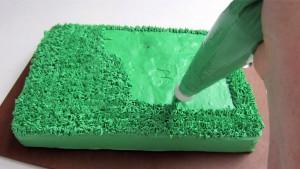 3D торт Сказочный сад - мастер-класс-шаг 2