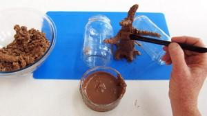 3D торт Сказочный сад - мастер-класс-шаг 4
