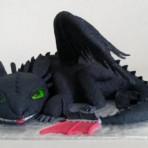 Торт из мастики Дракон. 3D торт
