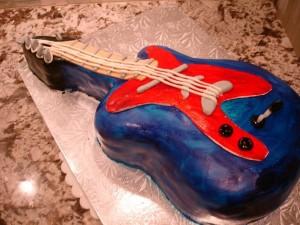торт гитара-шаг 11