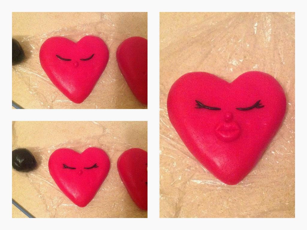 Как сделать из мастики сердечко - Золотой ангел