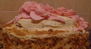 Медовый торт к 8 Марта-шаг 1