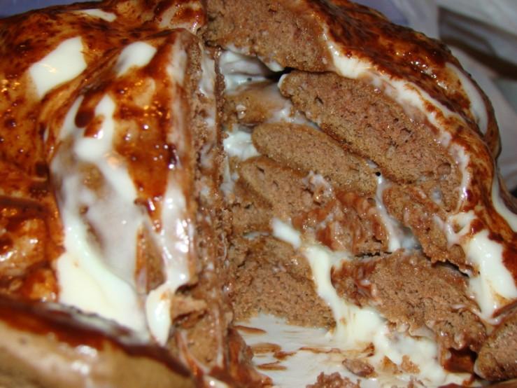 Шоколадный торт Черепаха
