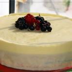 Бисквитный торт с маскарпоне  Весенний поцелуй