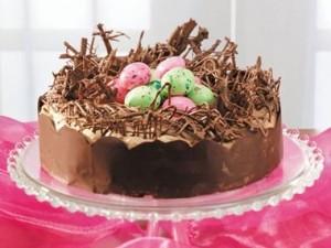 Шоколадный торт. Пасхальный торт