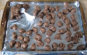 Шоколадные пирожные. Пирожные Пасхальные яйца – мастер-класс-шаг 5