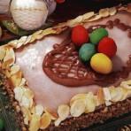 Простой пасхальный торт