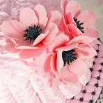 Цветы из мастики – мастер-класс. Делаем цветок анемона из мастики