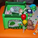 Украшения из мастики для детского торта. Манеж из мастики – мастер-класс-шаг 1