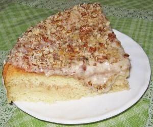 Бисквитный торт в мультиварке. Торт с банановым кремом-шаг 1