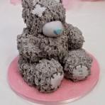 3D торт Мишка Тедди. Детский торт – мастер-класс