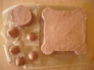 Детский торт Замок для принцессы. Торт из мастики – мастер-класс-шаг 3