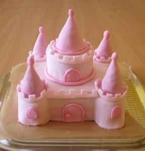 Детский торт Замок для принцессы. Торт из мастики – мастер-класс