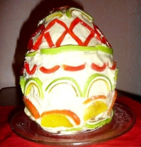 Пасхальный торт Яйцо – приготовьте на праздники!