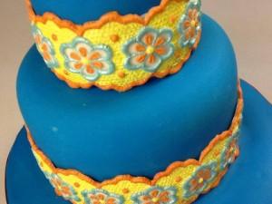 Как украсить торт пищевыми красками и мастикой – 3 оригинальные идеи-шаг 2