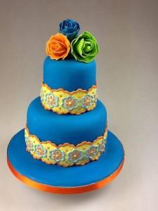 Как украсить торт пищевыми красками и мастикой – 3 оригинальные идеи-шаг 3