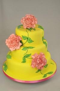 Как украсить торт пищевыми красками и мастикой – 3 оригинальные идеи-шаг 1