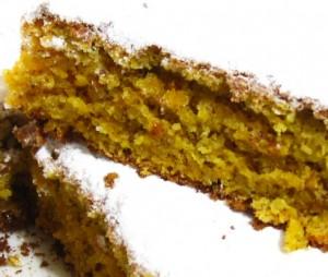 Пасхальный торт с миндалем и морковью. Торт без муки-шаг 1
