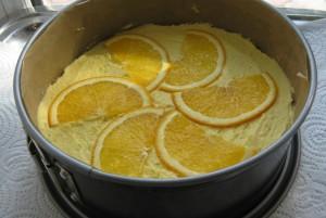 Торт с апельсиновым кремом по-английски-шаг 3