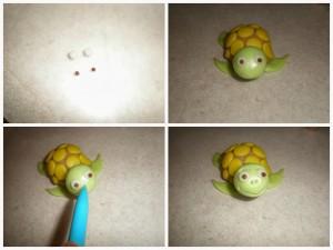 Животные из мастики. Черепаха из мастики – мастер-класс-шаг 6