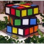 Торт Кубик Рубик – видео-рецепт-шаг 3