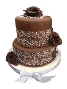 Айсинг (королевская глазурь) – как украсит торт. Видео-шаг 1