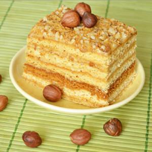 Арахисовый торт по-латиноамерикански