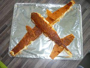 3D Торт Самолет – мастер-класс-шаг 1