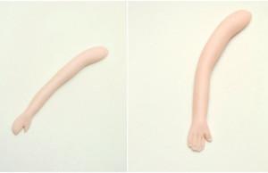 Девочка из мастики. Мастер-класс по изготовлению девочки-барышни-шаг 15