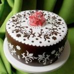 Украшаем айсингом торт. Мастер-класс
