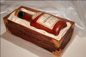 3D торт Бутылка вина. Видео-рецепт приготовления торта из мастики-шаг 3