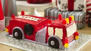 3D торт Пожарная машина – видео-рецепт-шаг 1