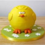 Торт из мастики Цыпленок – мастер-класс