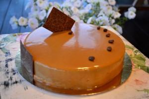 Абрикосовая глазурь для торта