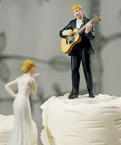Фигурки на свадебный торт. Забавные фигурки жениха и невесты-шаг 9