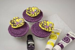 Как украсить пирожные и капкейки – оригинальные идеи-шаг 5