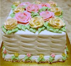 Украшение торта белковым кремом в домашних условиях-шаг 6