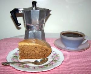 Кофейный торт в мультиварке. Торт со сметанным кремом