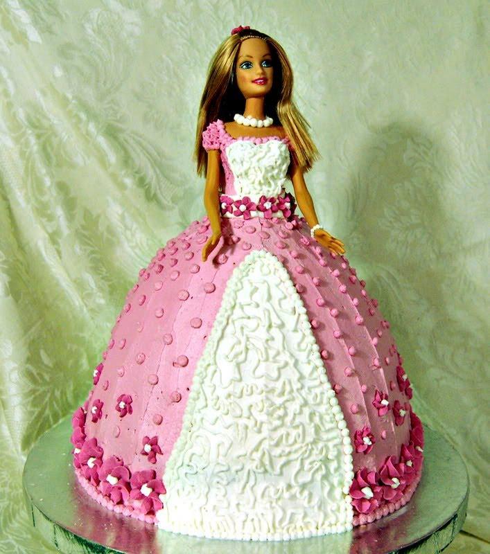 рецепт торт на день рождения ребенку барби